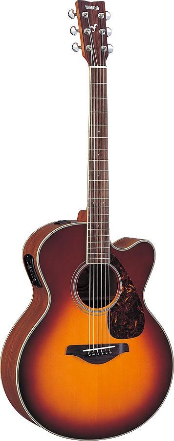 Yamaha Fjx720sc Brown Sunburst