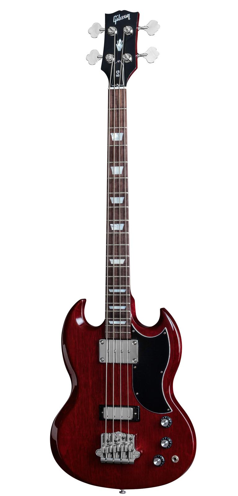 Gibson Sg Standard Bass 2015 Heritage Cherry + Etui