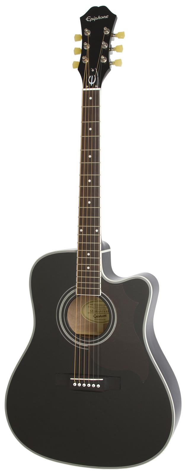 epiphone ft 350sce ebony guitares electro acoustiques. Black Bedroom Furniture Sets. Home Design Ideas