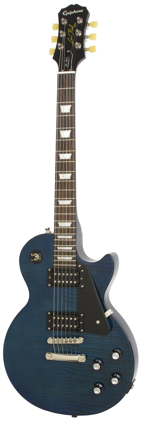 Epiphone Les Paul Classic-t Min-etune Midnight Sapphire