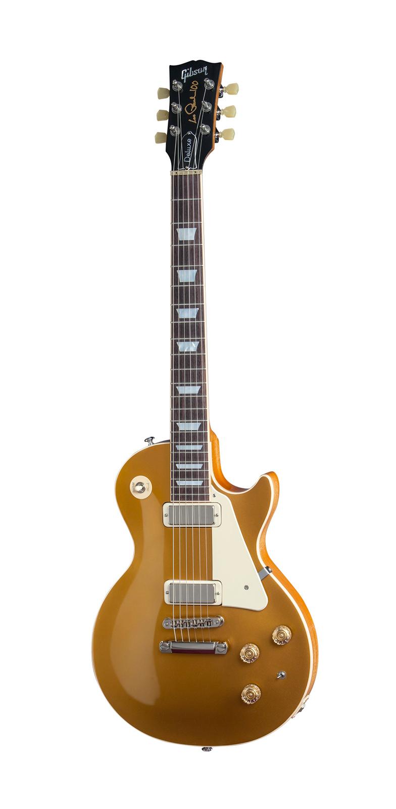 Gibson Les Paul Lp Deluxe Metallic 2015 Gold Top + Etui