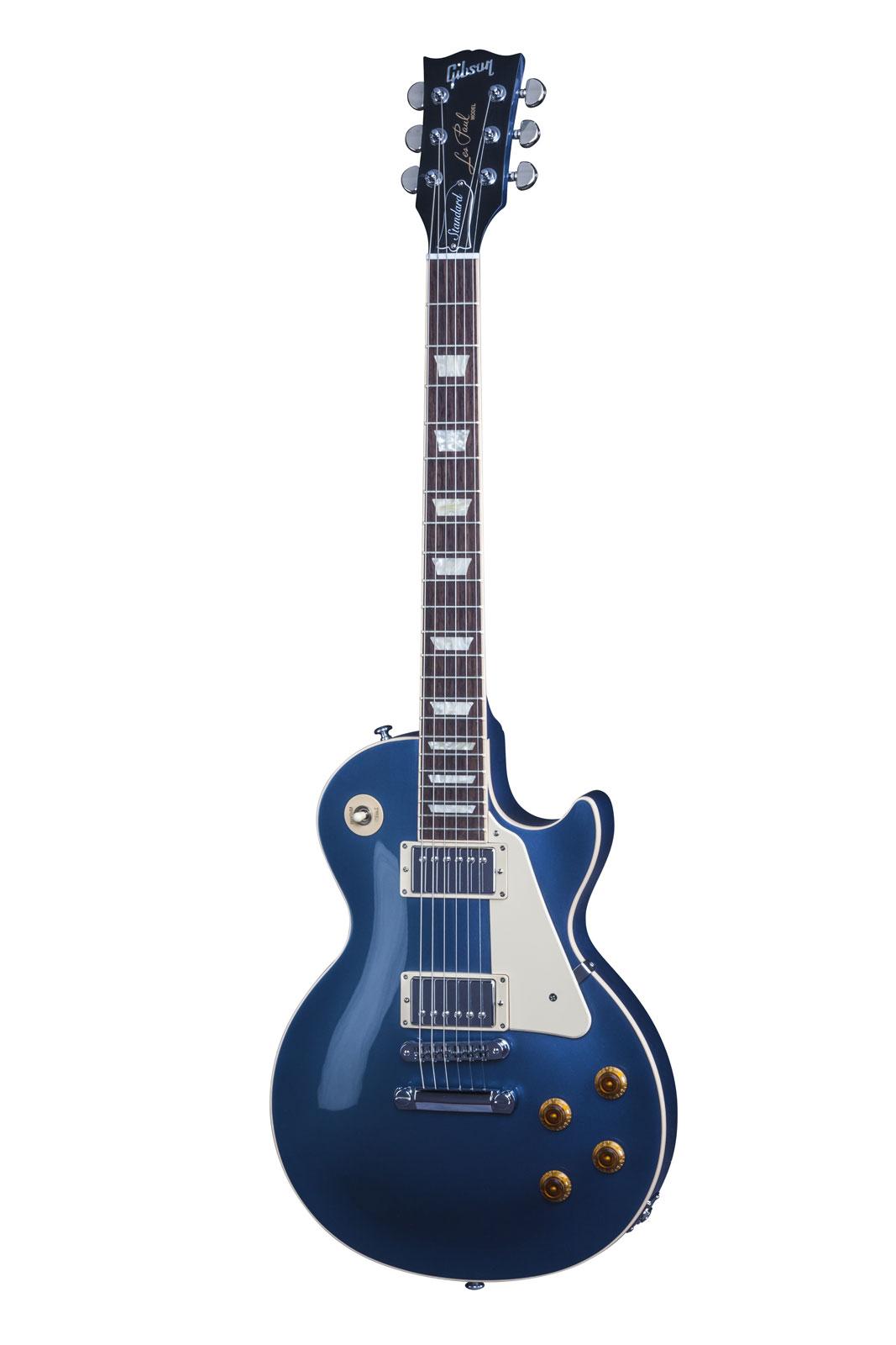 Gibson Les Paul Lp Standard 2016 T Blue Mist + Etui