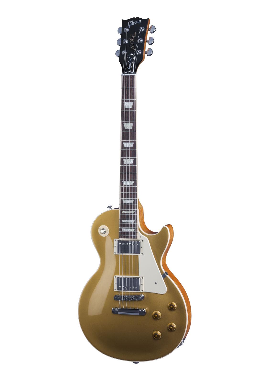 Gibson Les Paul Lp Standard 2016 Hp Gold Top + Etui