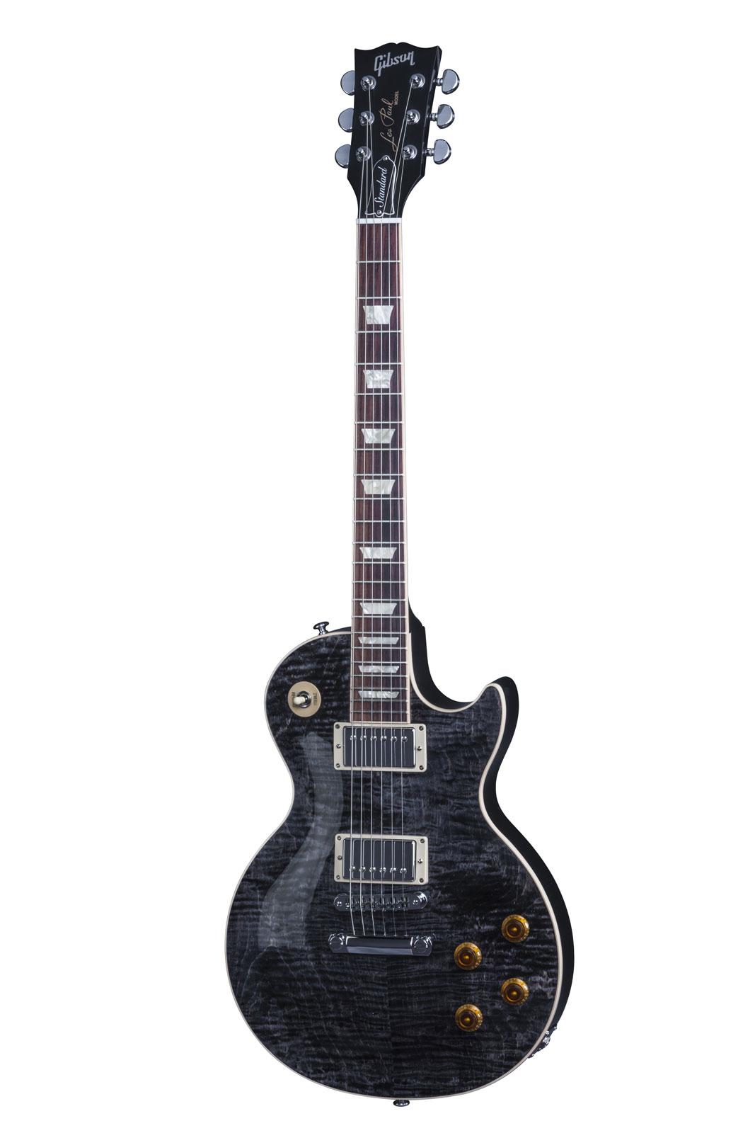Gibson Les Paul Lp Standard 2016 Hp Translucent Black + Etui