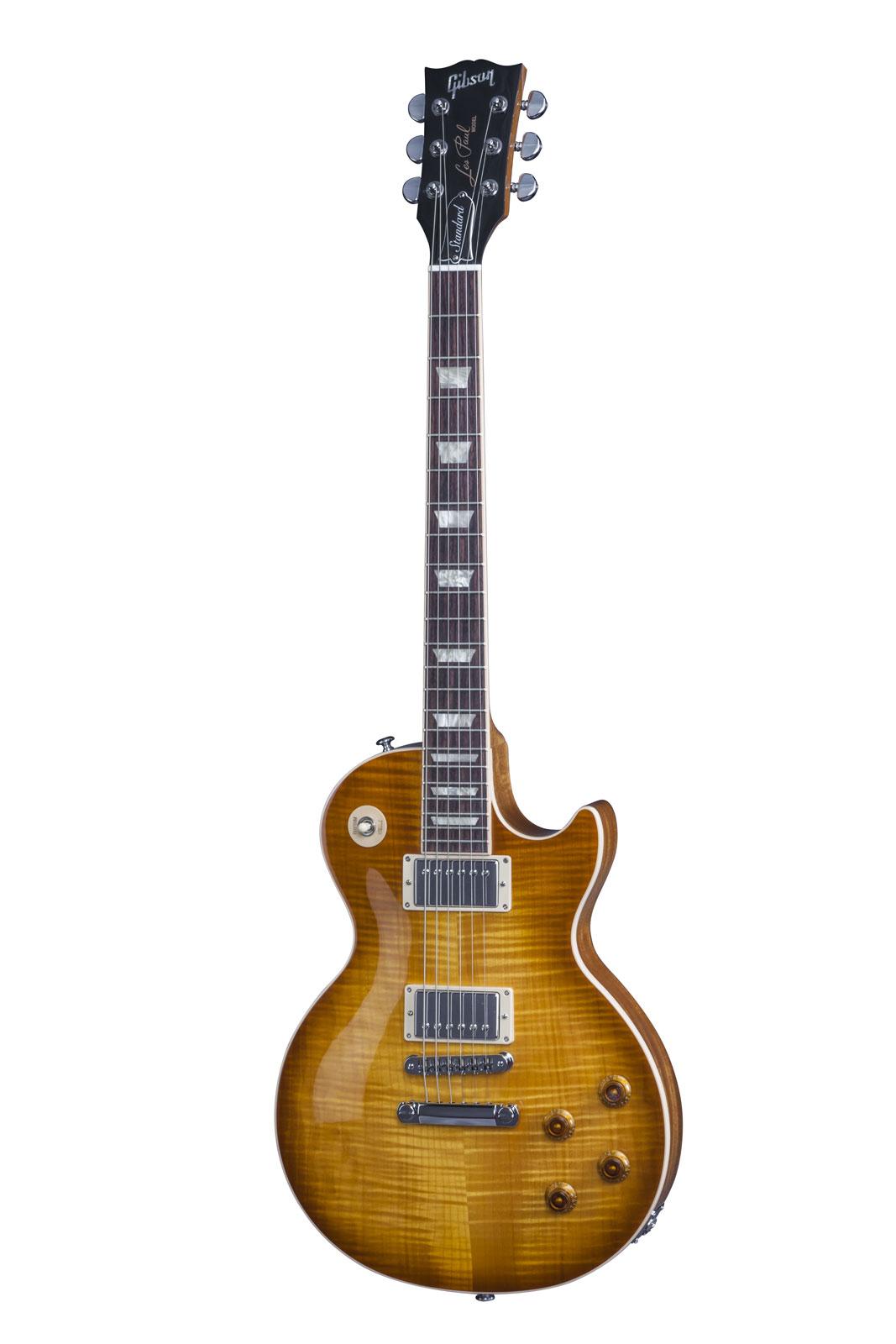 Gibson Les Paul Lp Standard 2016 Hp Honey Burst + Etui