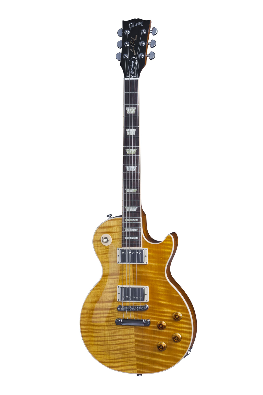 Gibson Les Paul Lp Standard 2016 T Translucent Amber + Etui