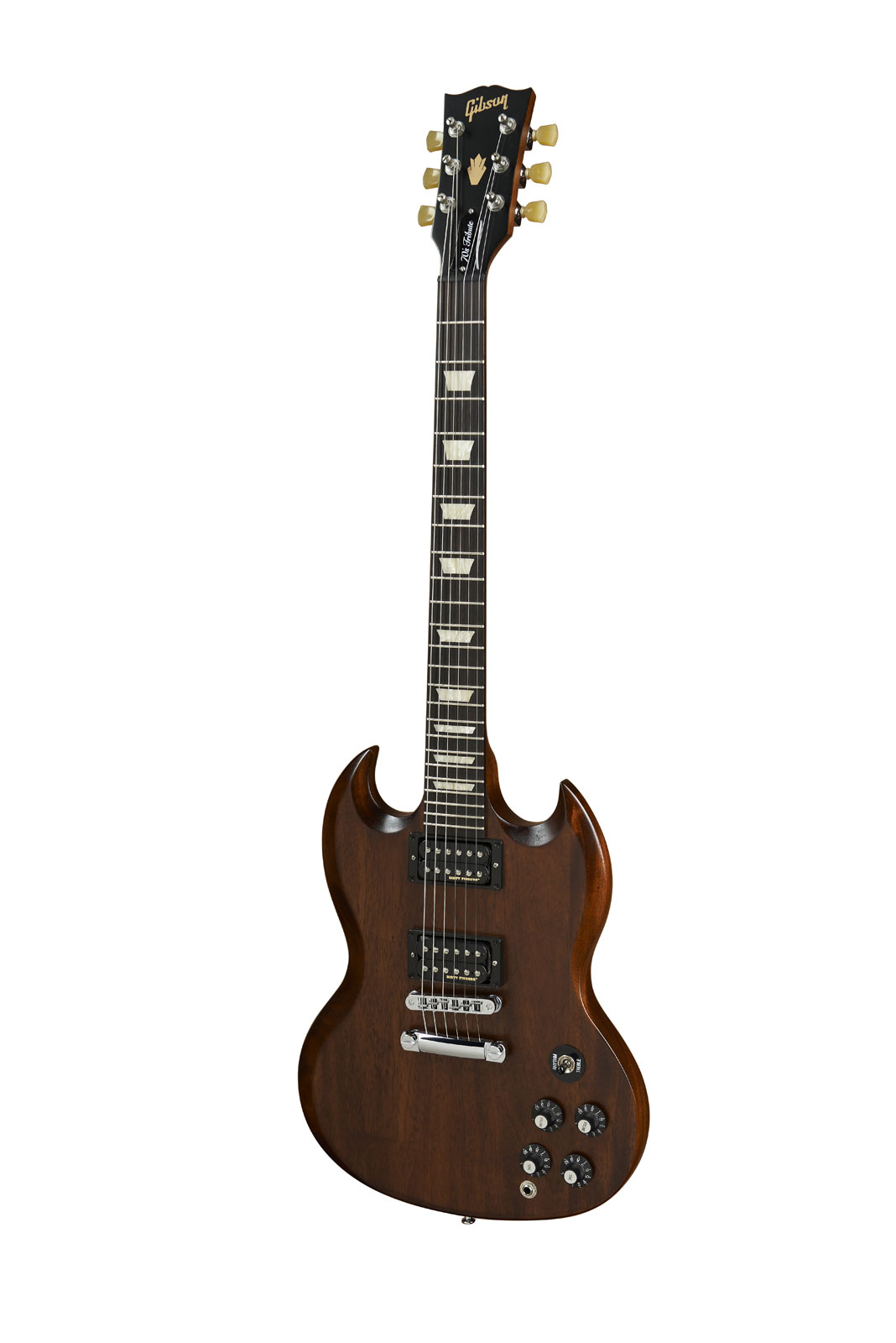 Gibson Sg Tribute 70's Min-etune Chocolate Vintage Gloss + Housse