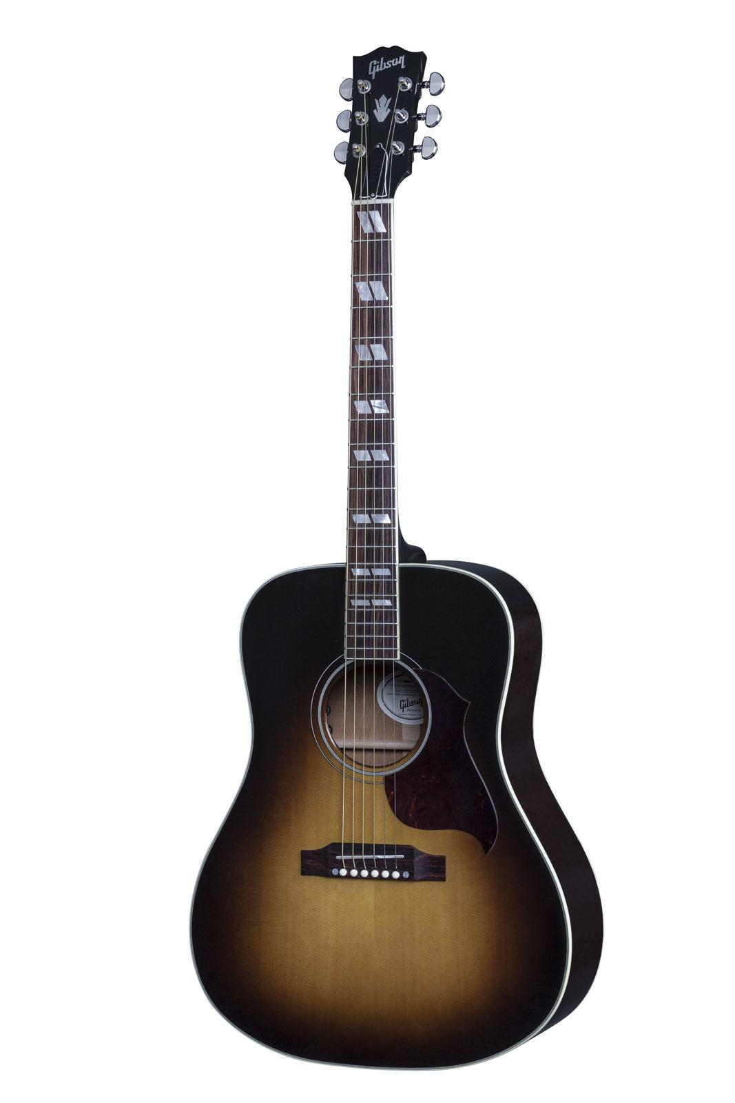Gibson Hummingbird Pro 2016 Vintage Sunburst + Etui