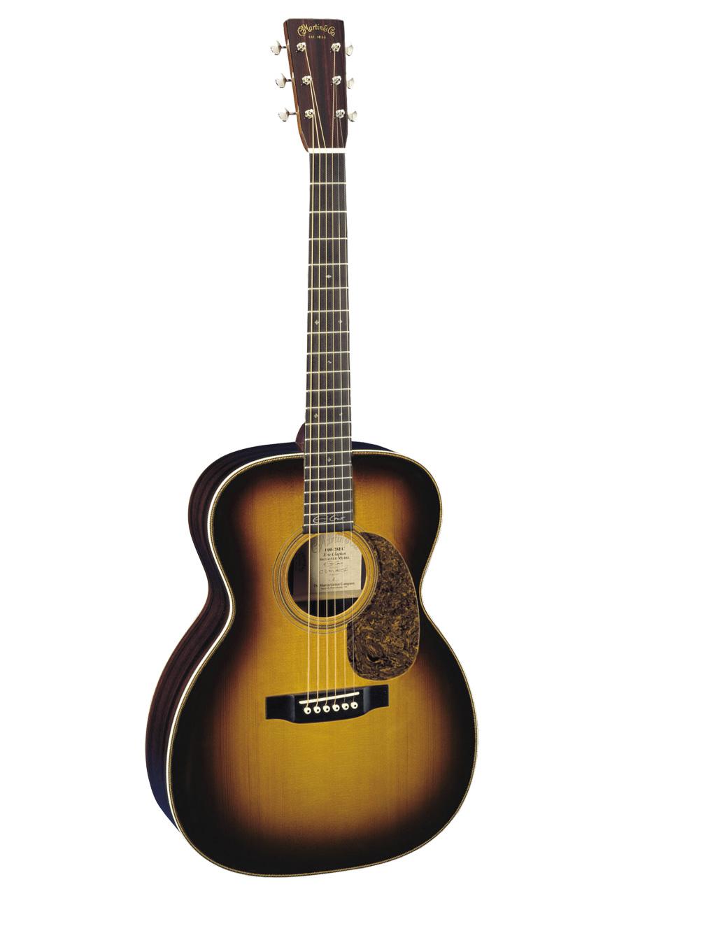 Martin 000 28ec Eric Clapton Sunburst + Etui