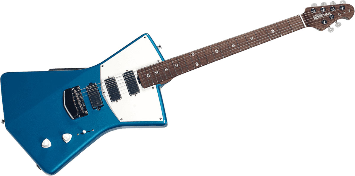 Music Man St. Vincent Signature Vincent Blue + Etui