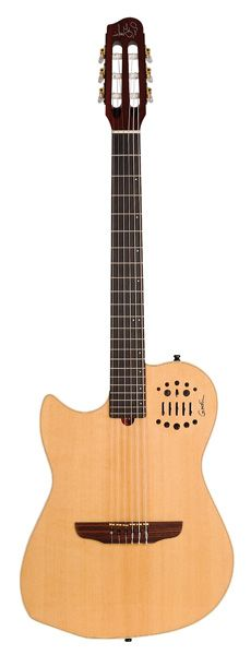 Godin Gaucher Multiac Nylon Natural + Etui