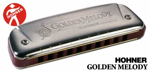 DIATONICO 542/20 GOLDEN MELODY PLATEADO 10 AGUJEROS C DO