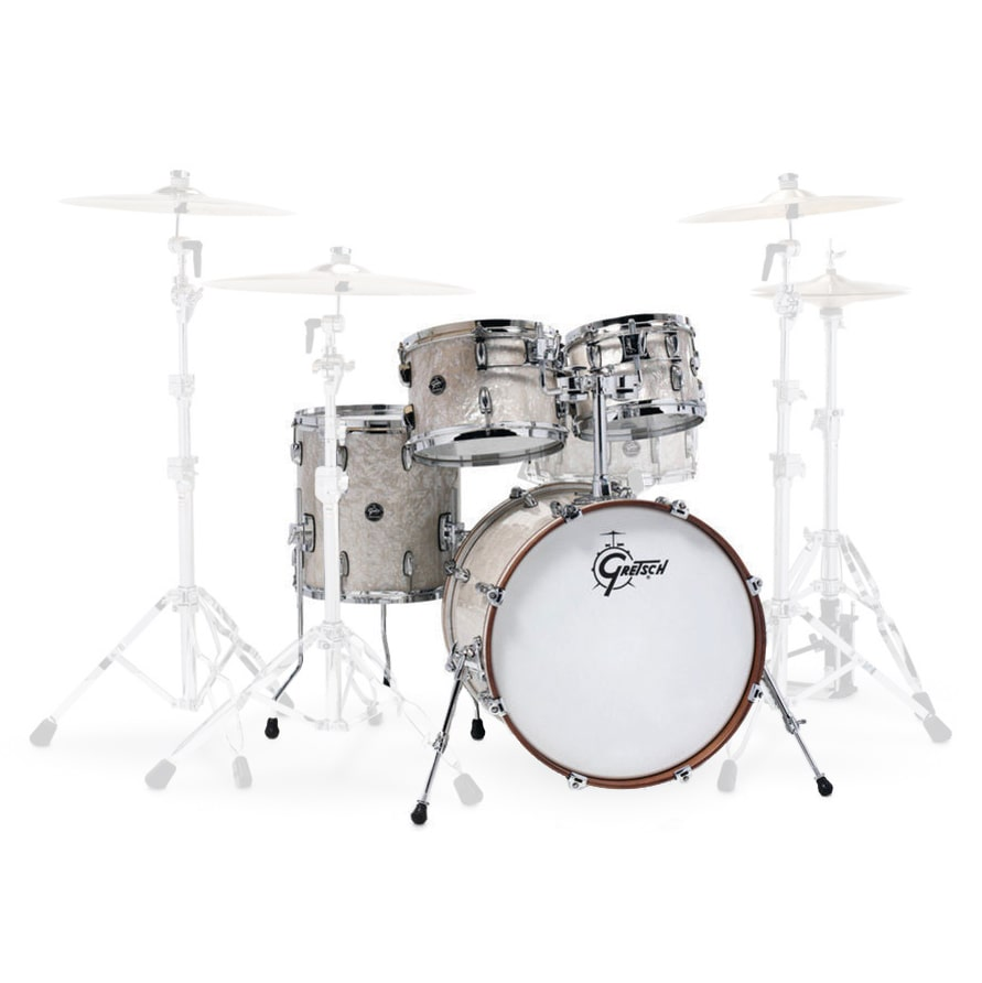 "RENOWN MAPLE FUSION 20"" VINTAGE PEARL"