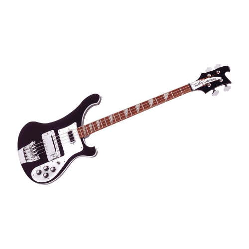 Rickenbacker 4003jg Jetglo Black + Etui
