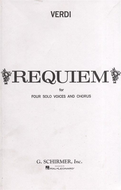 Giuseppe Verdi Messa Di Requiem Sop - Soprano