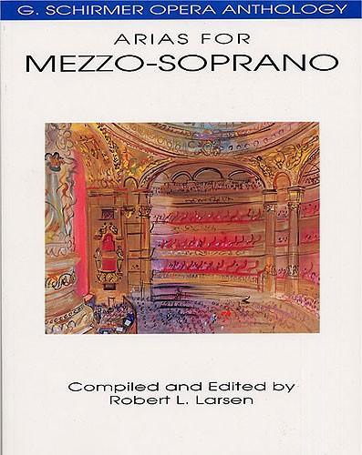 G.  Opera Anthology Arias For Mezzo-soprano Edited Larsen - Mezzo-soprano