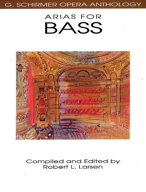 Opera Anthology Arias For Bass Edited Larsen