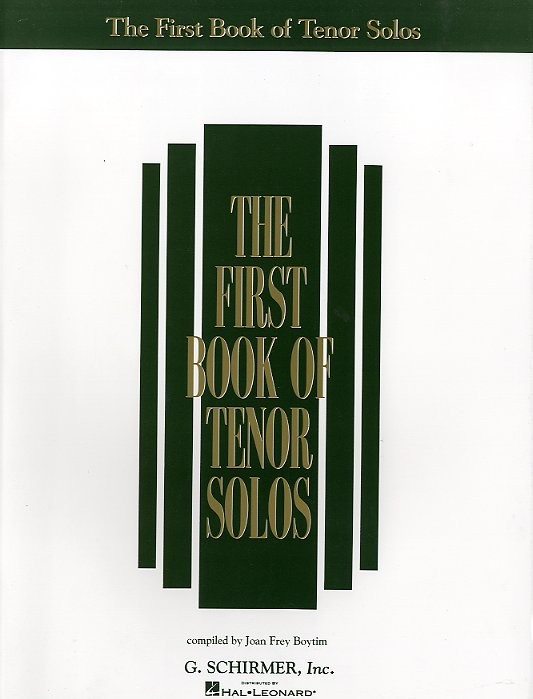 The First Book Of Tenor Solos - Tenor