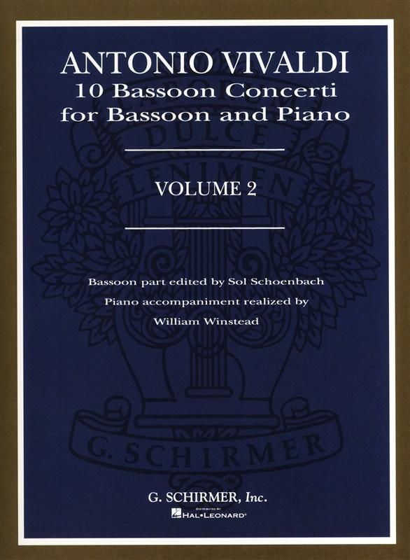 Vivaldi A. - 10 Bassoon Concerti Vol 2