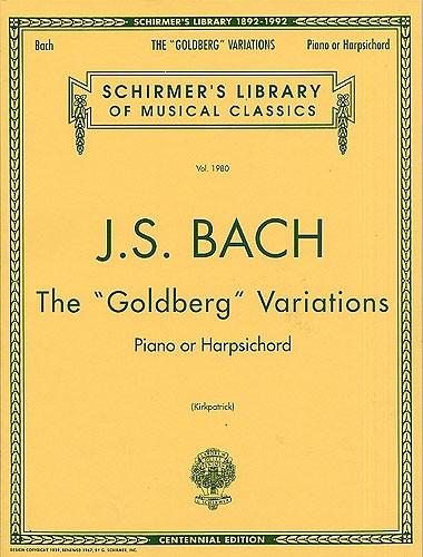 J.s. Bach The Goldberg Variations - Harpsichord