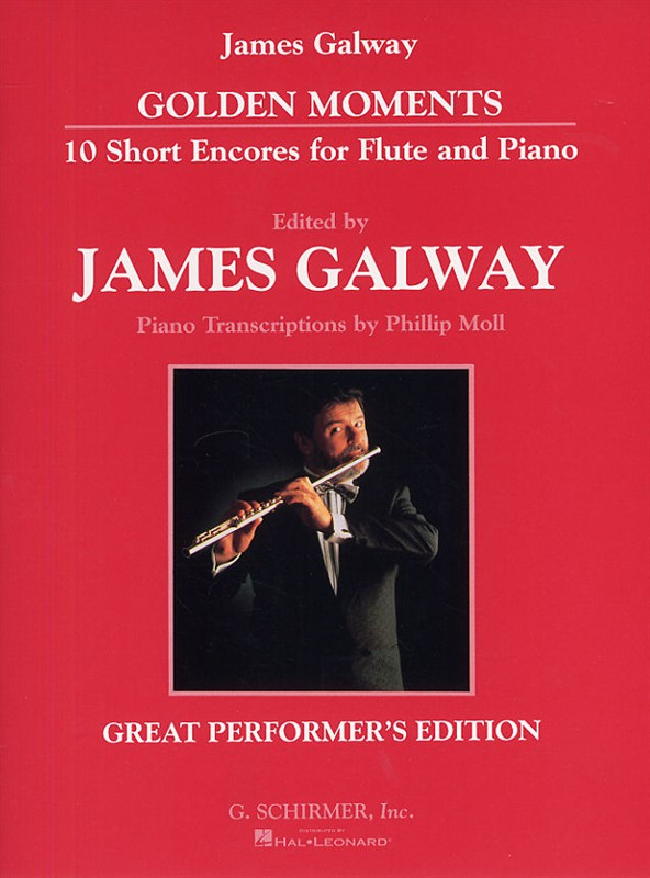 Golden Moments 10 Short Encores For Flute And Piano
