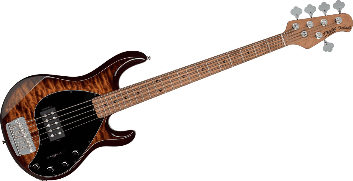 STINGRAY5 - QUILTED MAPLE ISLAND BURST