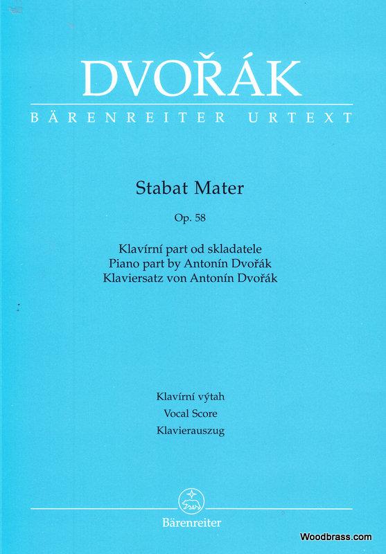 Dvorak A. - Stabat Mater - Choeur Et Piano
