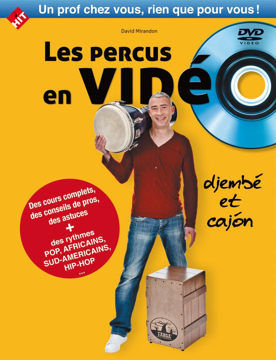 Mirandon D. - Les Percus En Video Livre + Dvd - Djembe Et Cajon