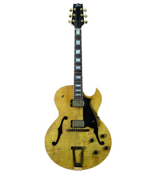 Heritage Jazz Custom Amber Translucent