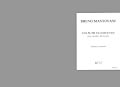 Mantovani Bruno - Une Autre Incandescence - Clarinette, Alto, Piano
