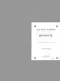 Damase Jean-michel - Quintette - Clarinette Sib, Quatuor A Cordes