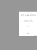 Singier Jean-marc - Psaume 68/67 - Choeur Mixte A Cappella