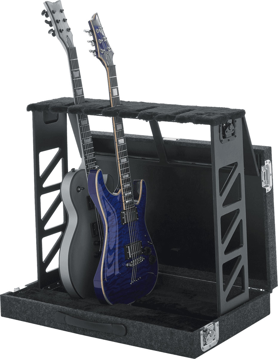 FOLDABLE STAND FOR 4 GUITARS