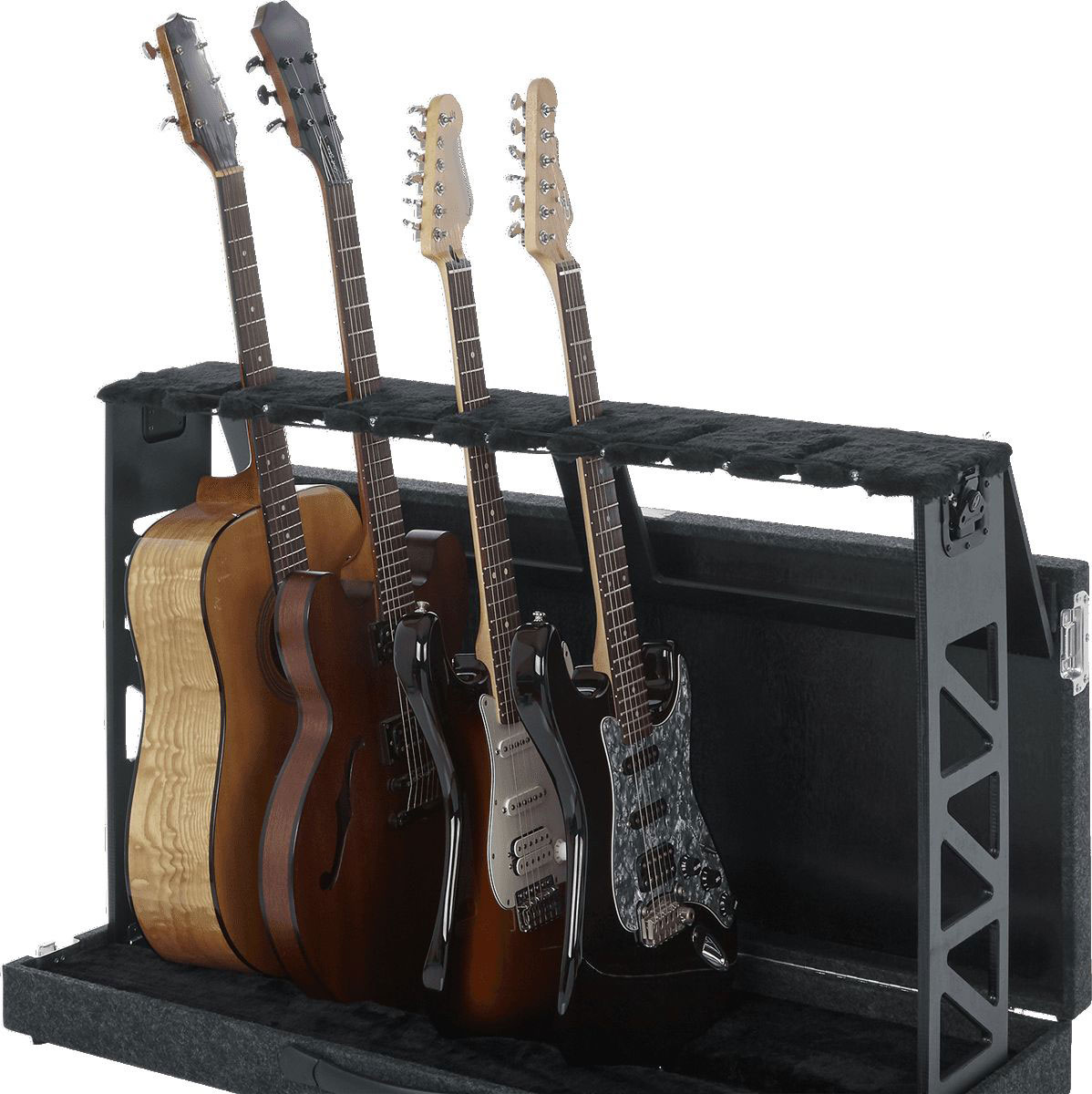 FOLDABLE STAND FOR 6 GUITARS