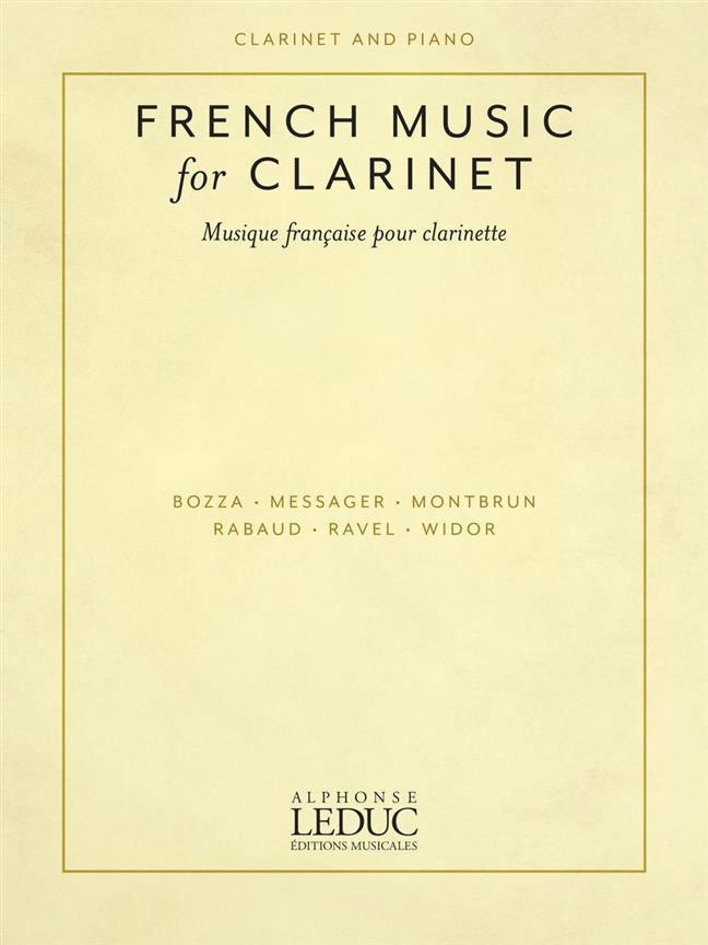 Musique Francaise Pour Clarinette Et Piano