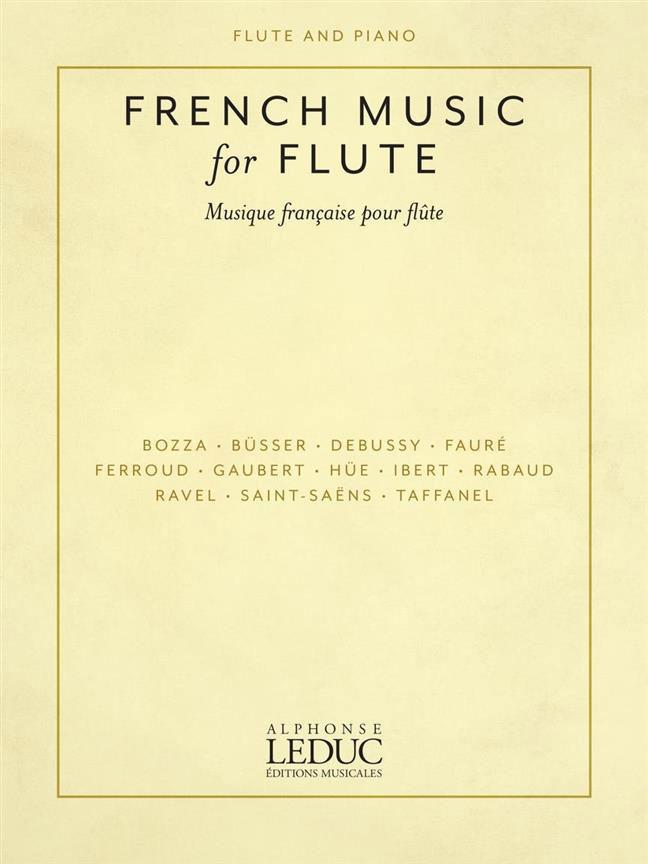 Musique Francaise Pour Flute Traversiere Et Piano