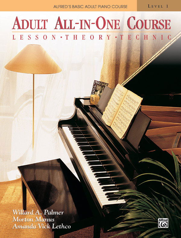 PALMER MANUS AND LETHCO - ADULT ALL IN ONE COURSE 1 + CD - PIANO