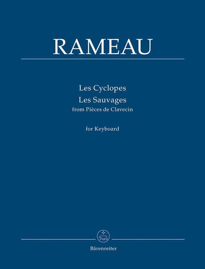 Jean-philippe Rameau - Les Cyclopes Et Les Sauvages Pour Claviers