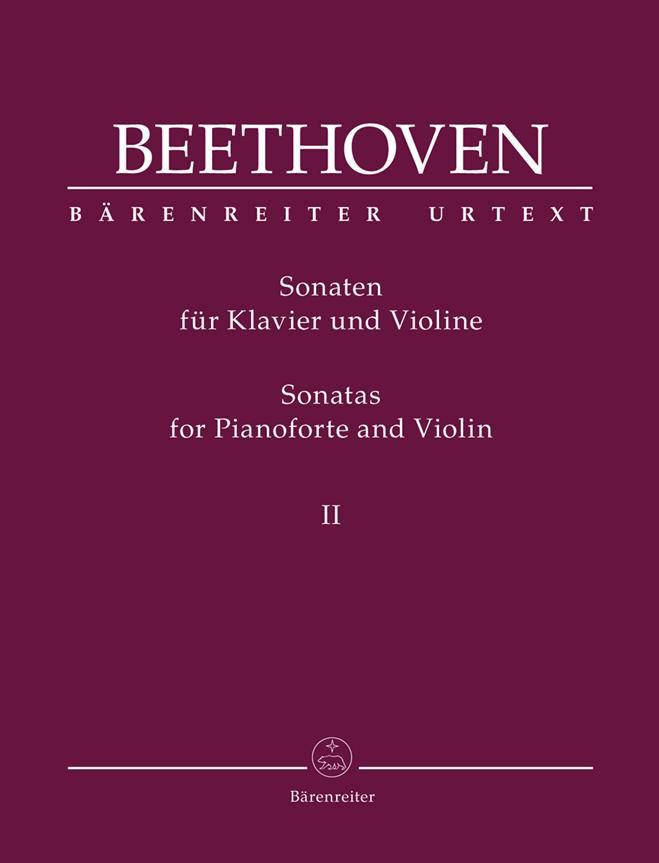Sonates Pour Piano Forte Et Violon Op. 30
