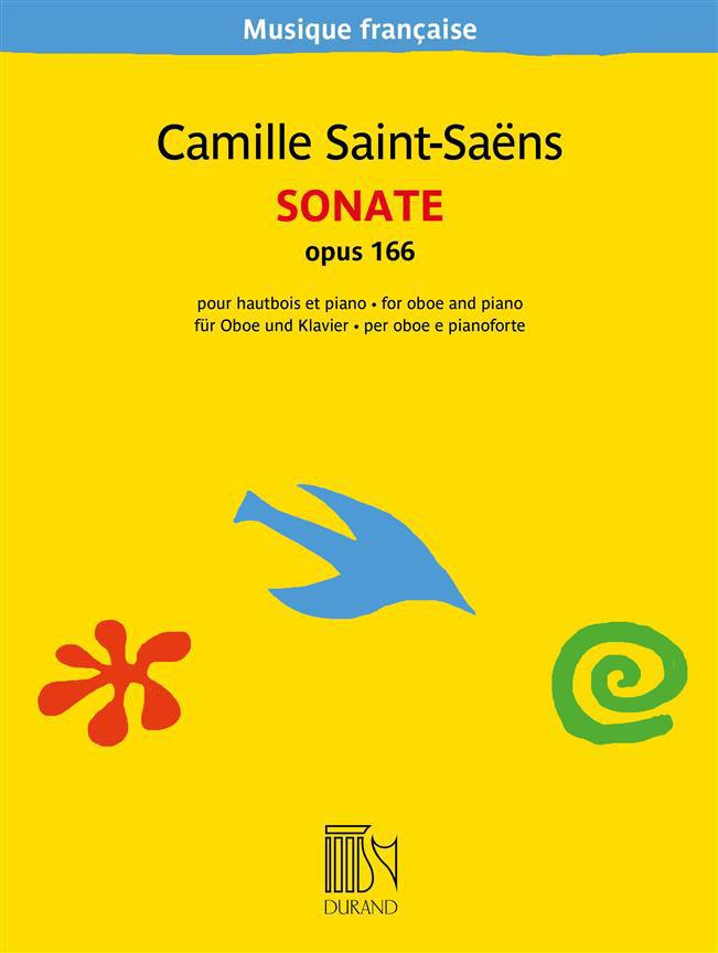 Camille Saint-saens - Sonate Opus 166 - Hautbois Et Piano