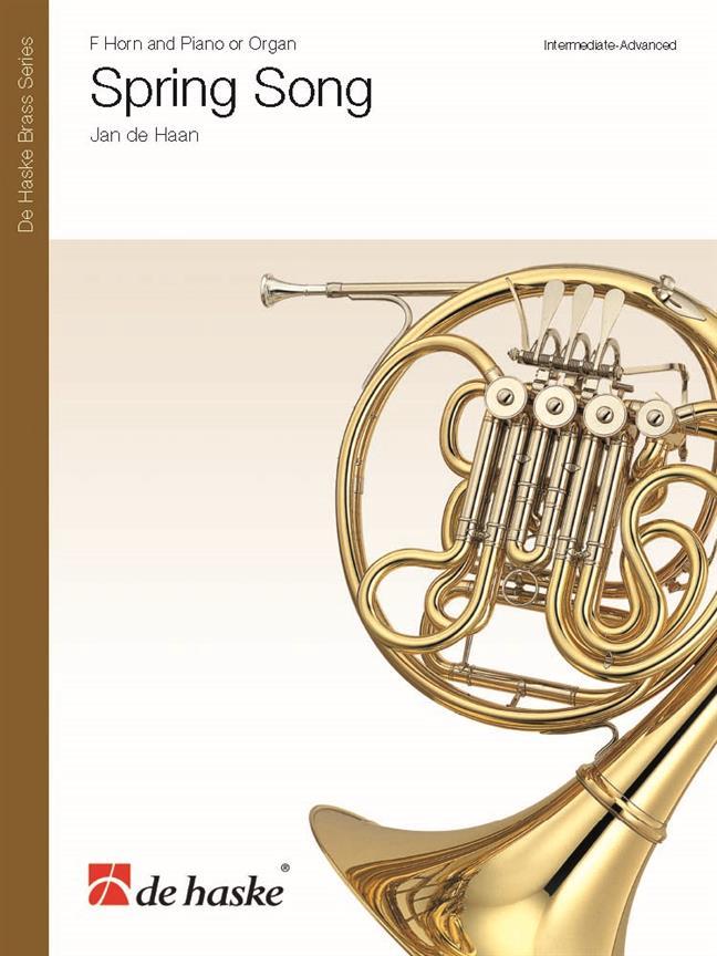 Jan De Haan - Spring Song - Cor Et Piano