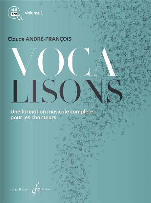 Claude Andre-françois - Vocalisons - Volume 1 - Chant