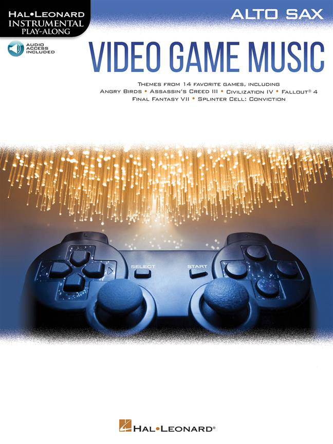 Video Game Music For Alto Sax