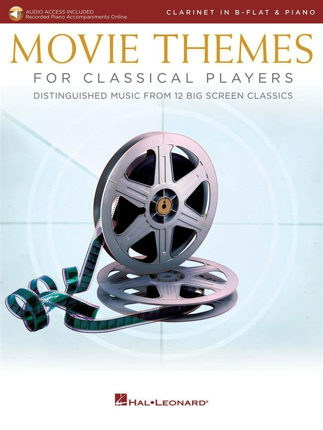 MOVIE THEMES FOR CLASSICAL PLAYERS-CLARINET & PIAN