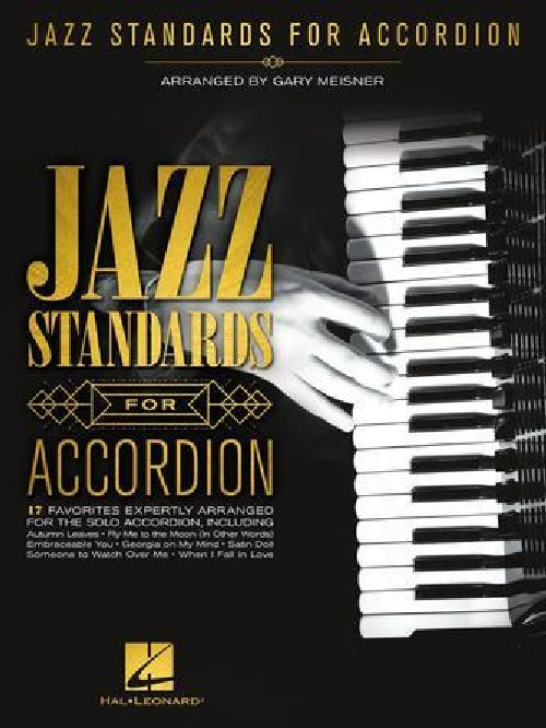 Jazz Standards For Accordion - Accordeon