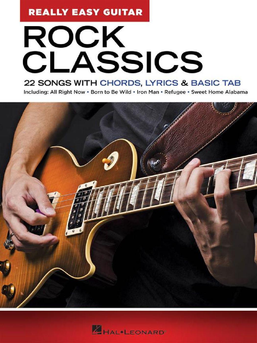 Rock Classics - Really Easy Guitar Series - Guitare Facile