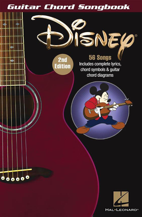 DISNEY - GUITAR CHORD SONGBOOK - 2ND EDITION