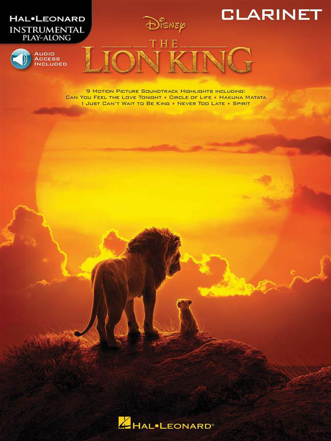 The Lion King - Clarinet