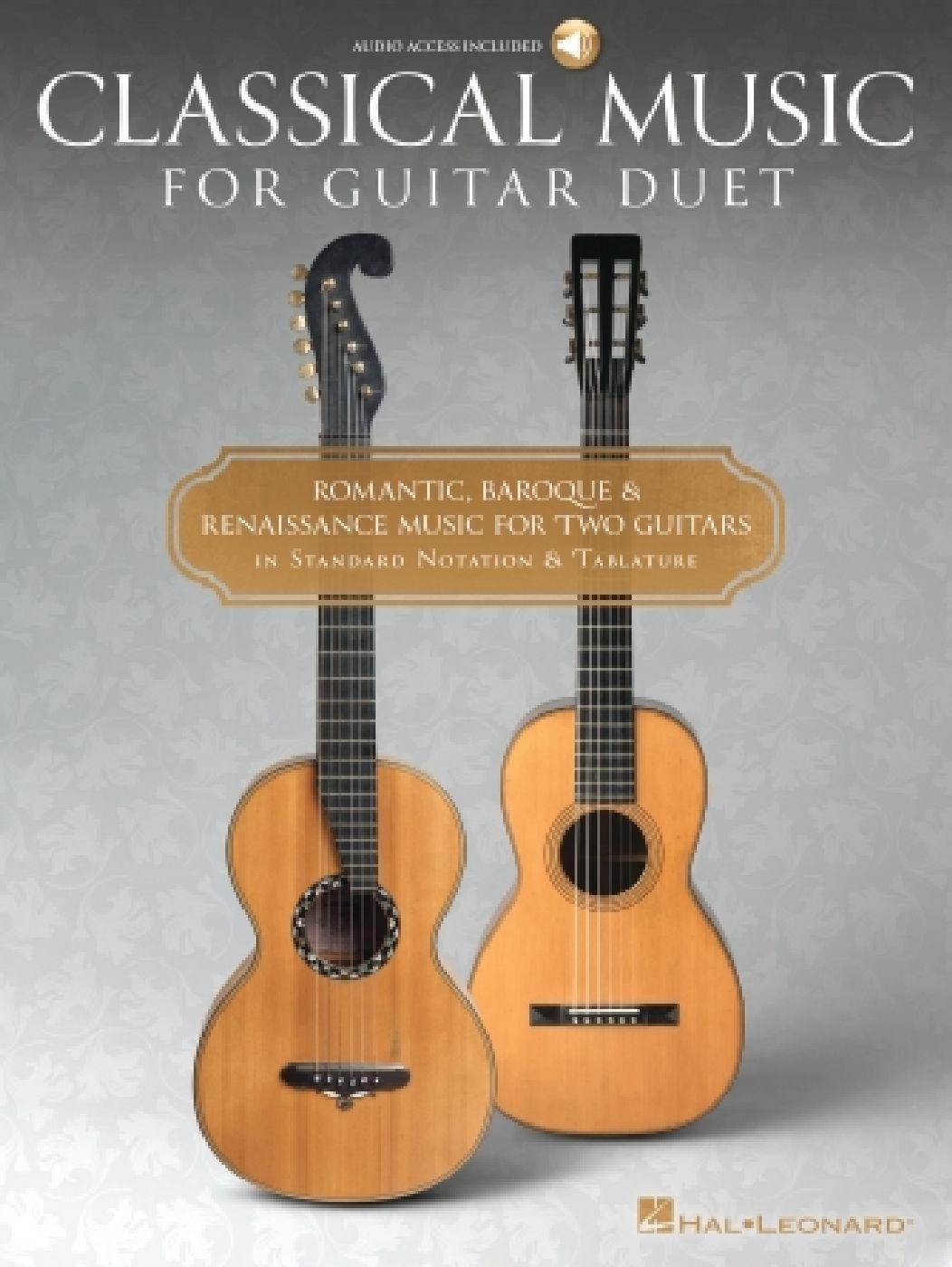 Classical Music For Guitar Duet - 2 Guitares