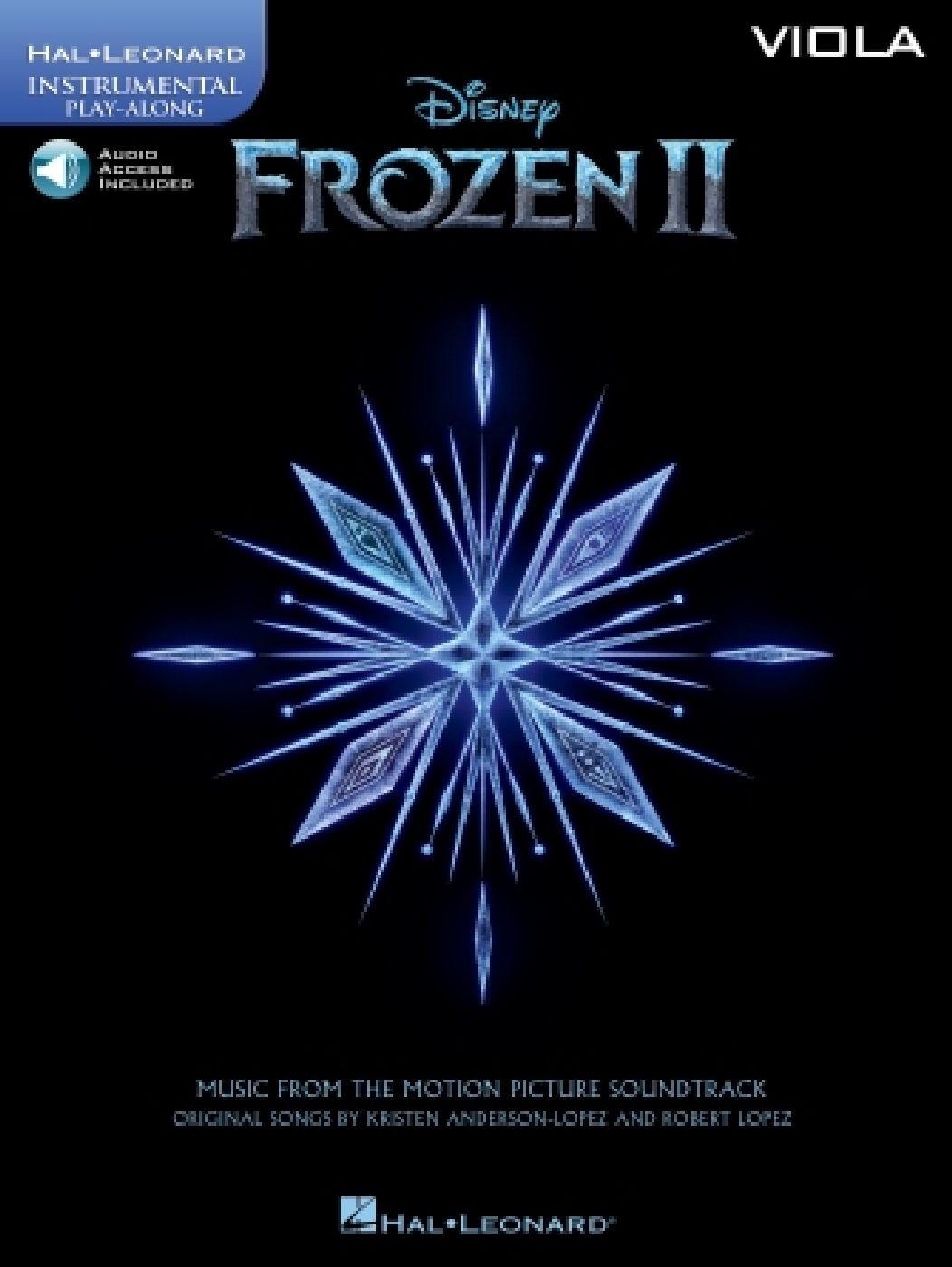 Robert Lopez - Frozen Ii - La Reine Des Neiges Ii - Instrumental Play-along - Alto